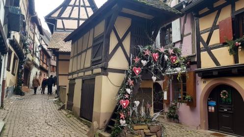 Petite année en Alsace : Eguisheim