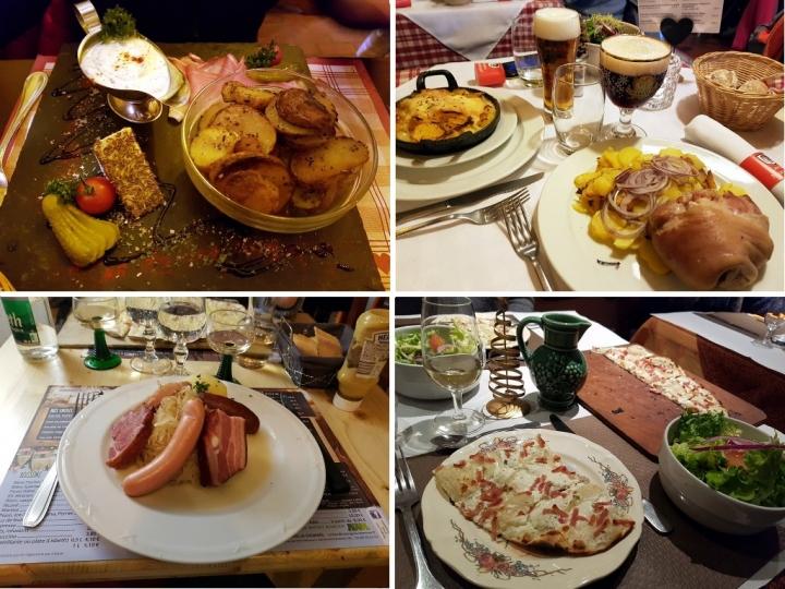 Petite année en Alsace : la cuisine alsacienne