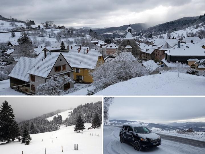 Petite année en Alsace : en vallée de Munster
