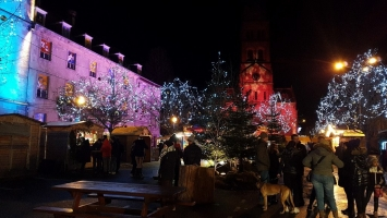 Petite année en Alsace : marché de l'An Neuf à Munster