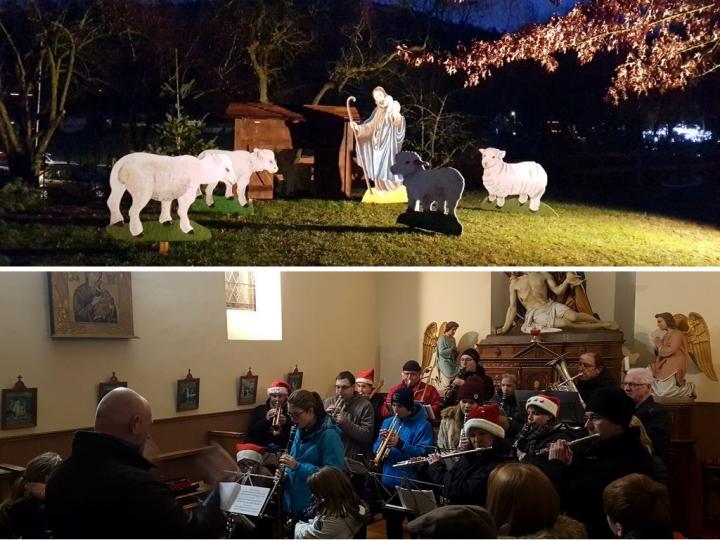 Petite année en Alsace : sentier de Noël à Stosswihr