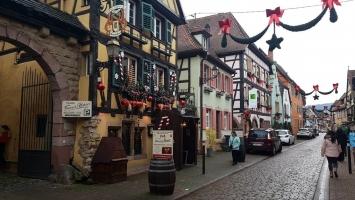 Petite année en Alsace : décorations de Noël à Turckheim