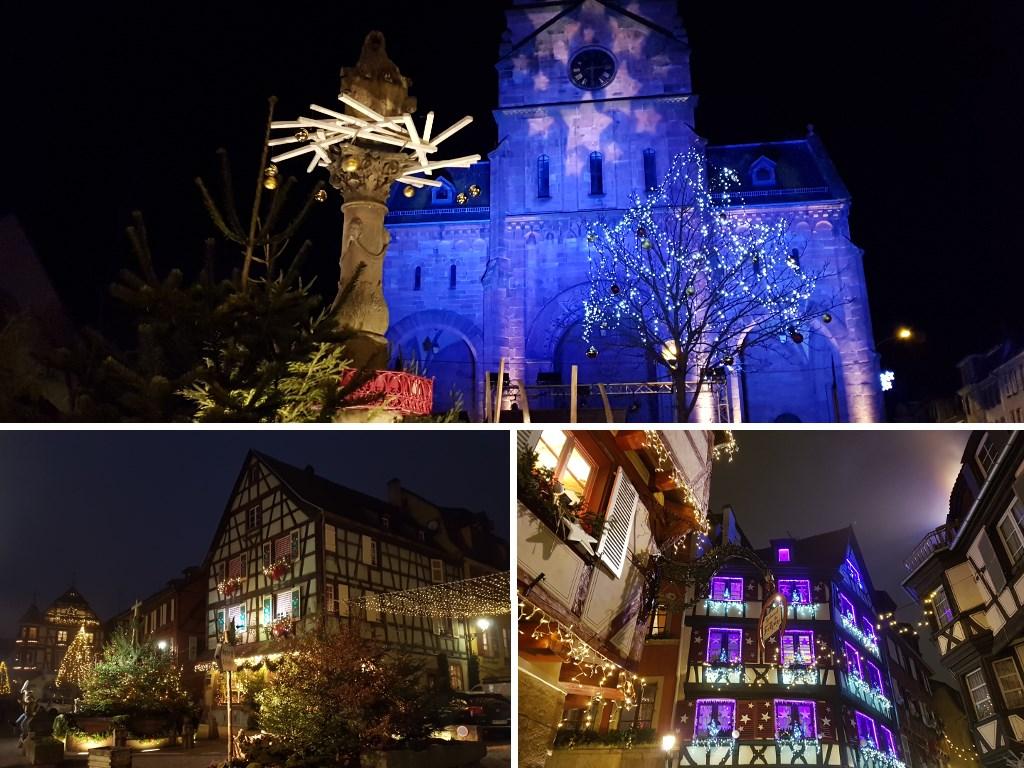 Petite année en Alsace : illuminations de Noël
