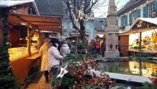 Petite année en Alsace : Marché des Rois Mages à Eguisheim