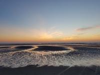 Quend Plage : coucher de soleil