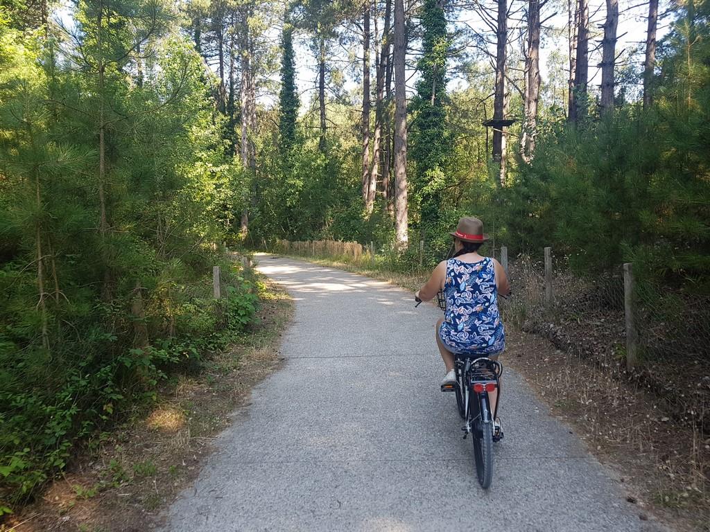 Quend Plage : les pistes cyclables