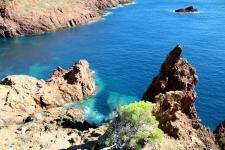 Randonner dans l'Esterel : Au Cap Dramont