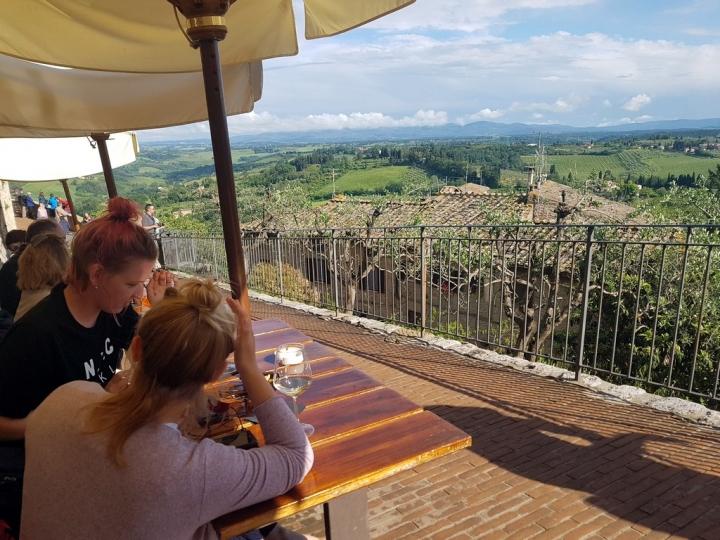 La Toscane : San Gimigliano
