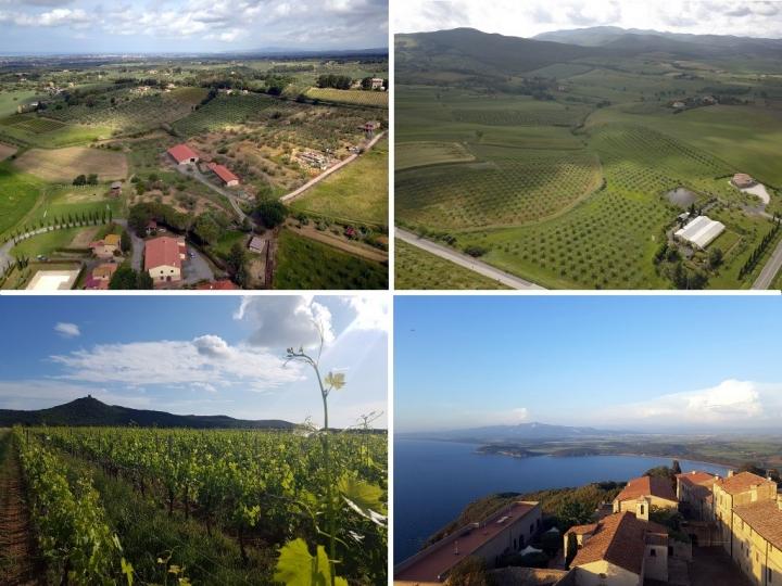 La Toscane : les paysages