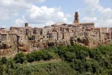 La Toscane : Pitigliano