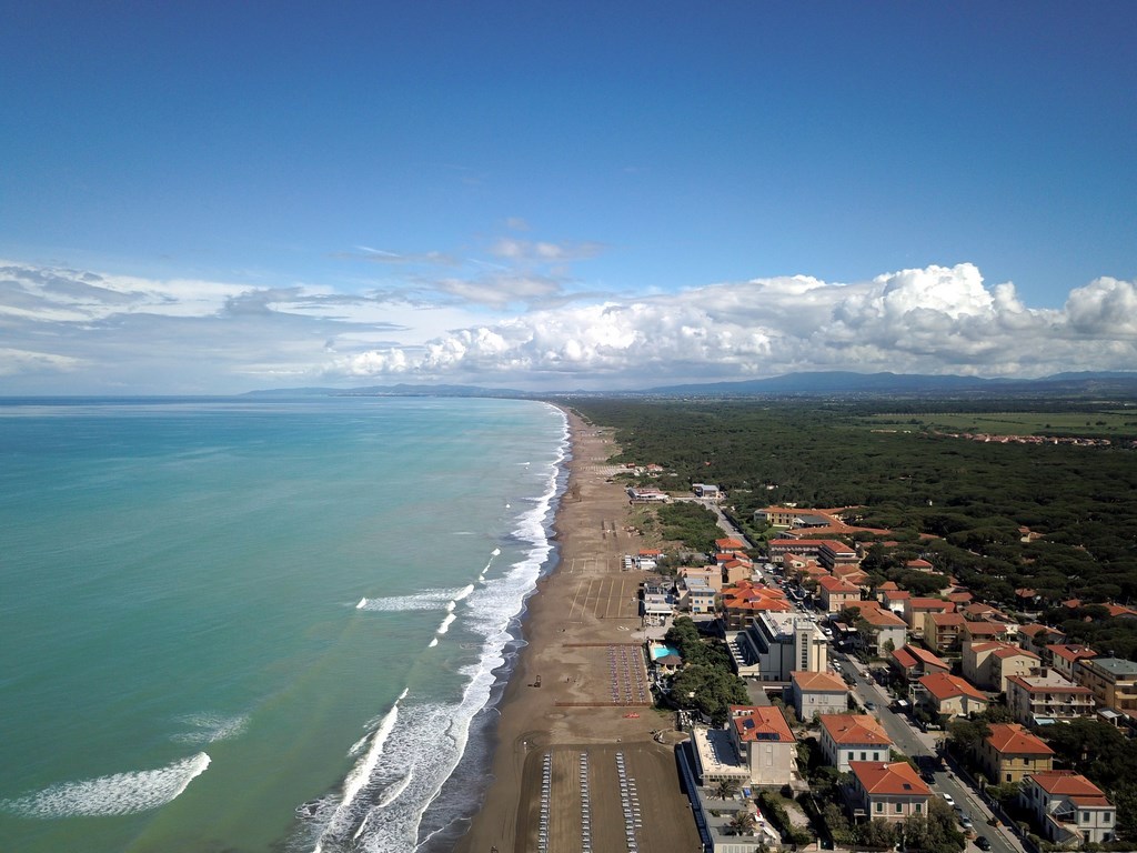 La Toscane : Marina di Castagneto Caselli