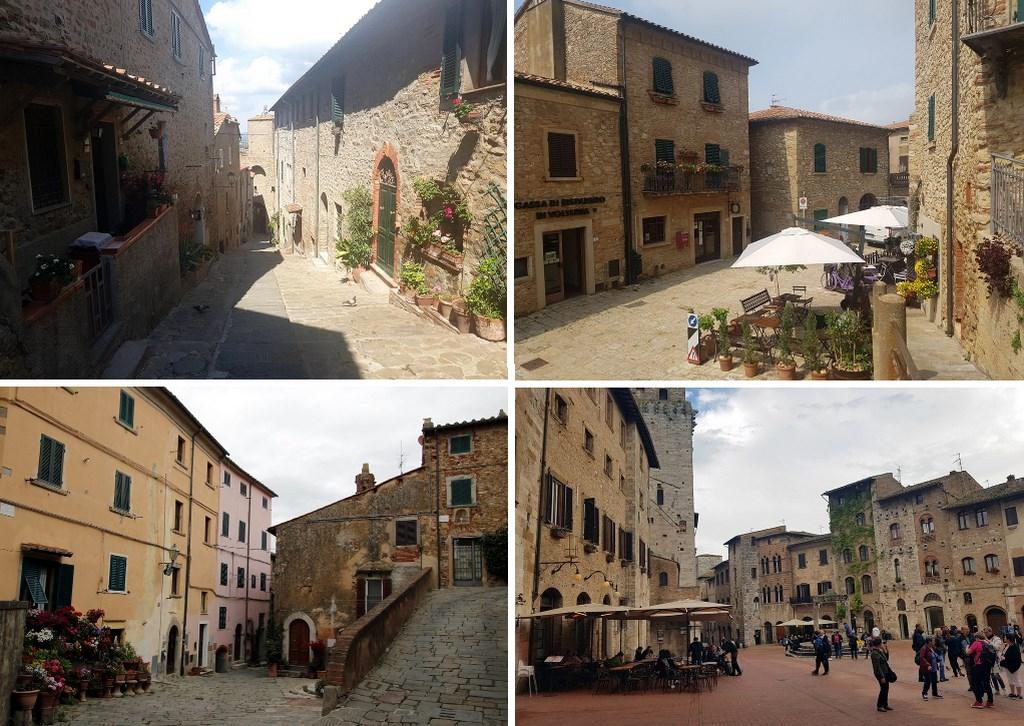La Toscane : les petits villages