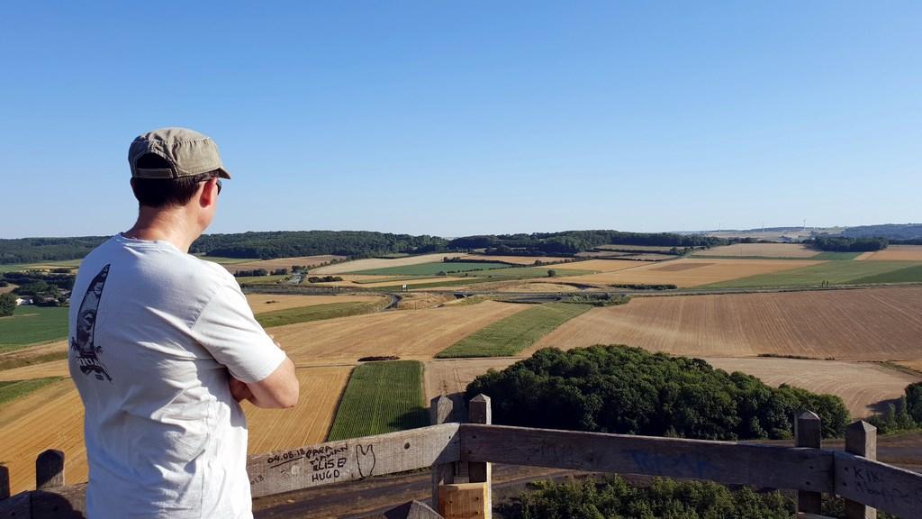 Hauts-de-France : terril de Haillicourt dans le Bassin Minier