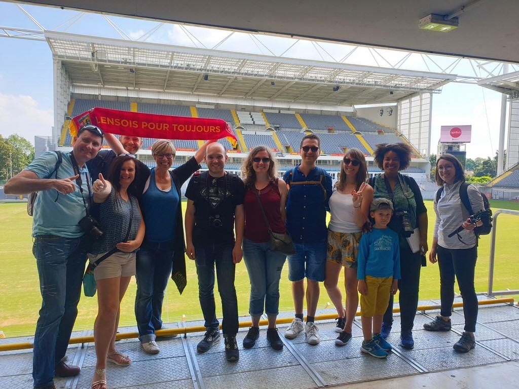 Les #BlogueursHdF-au-Stade-Bollaert de Lens