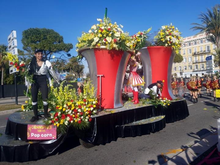 Côte d'Azur en Février : Bataille des Fleurs de Nice