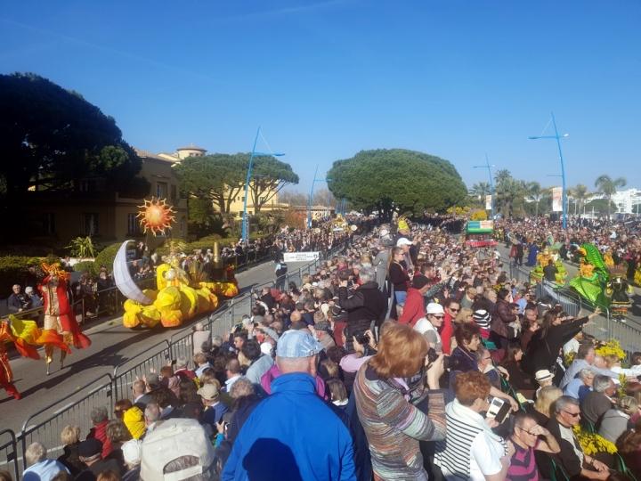 Côte d'Azur en Février : Fête du Mimosa à Mandelieu