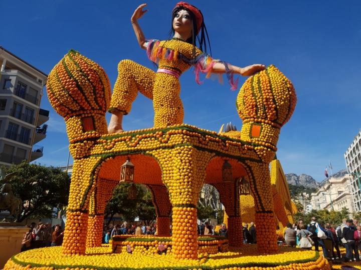 Côte d'Azur en Février : Fête du Citron à Menton