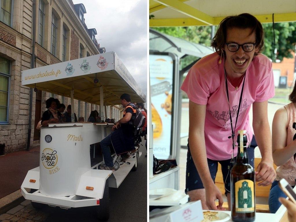 Découvrir Douai : en Drôle de Vélo