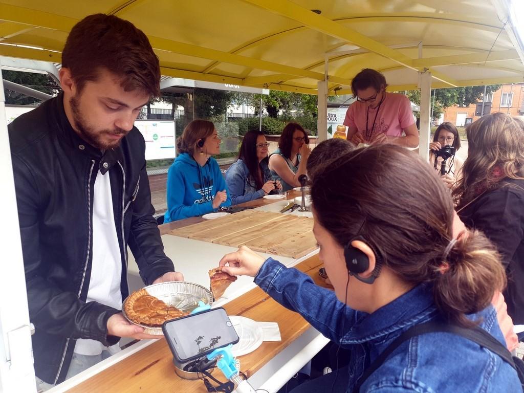 Découvrir Douai : circuit gourmand en Drôle de Vélo