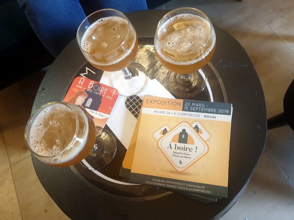 Découvrir Douai : Expo bière Musée de la Chartreuse
