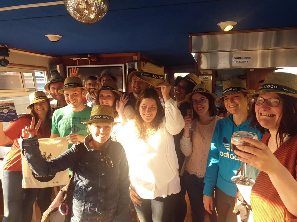 Le collectif #BlogueursHdF en blogtrip à Douai