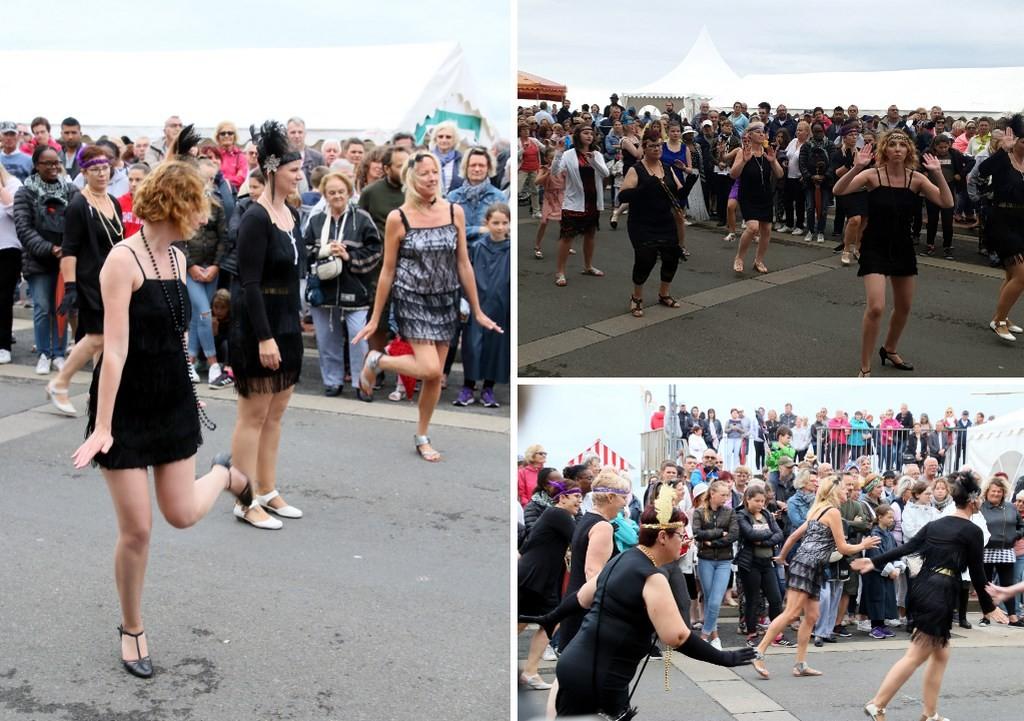 Danser le Charleston durant la Fête des Baigneurs de Mers-les-Bains