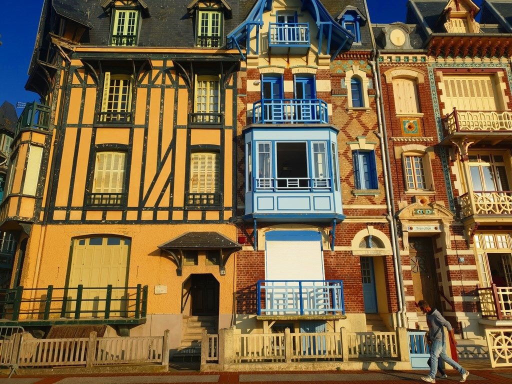 Les jolies villas classées de Mers-les-Bains