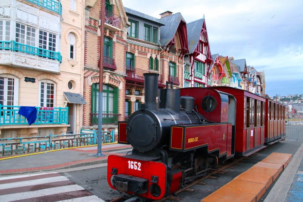 Le Train à Vapeur de la Fête des Baigneurs de Mers-les-Bains
