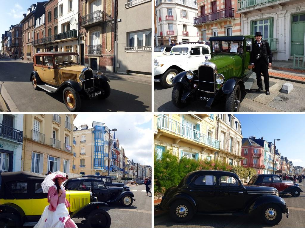 Des vieilles voitures à la Fête des Baigneurs de Mers-les-Bains