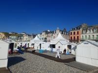 Les cabines de plage de Mers-les-Bains