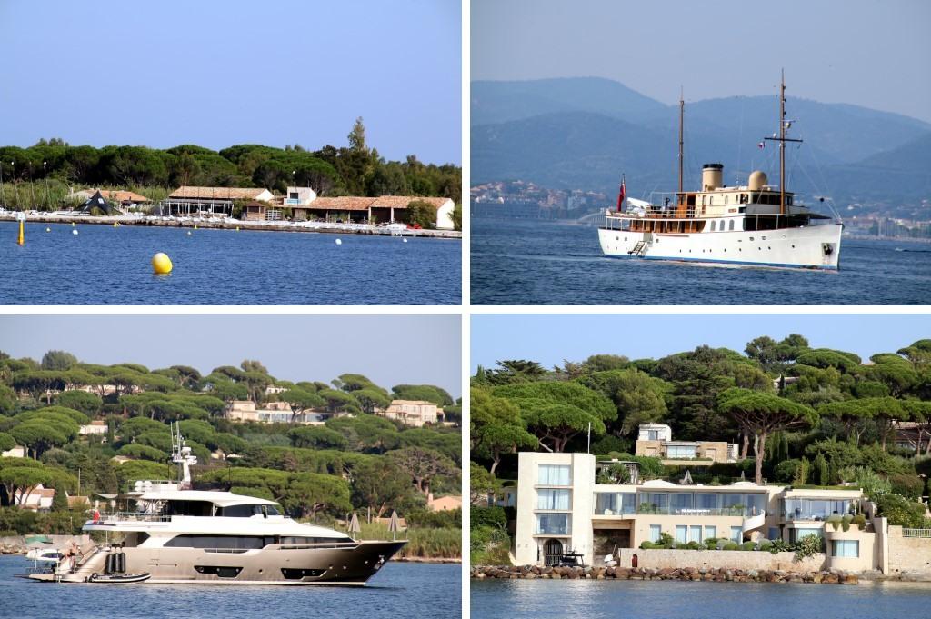 Golfe de Saint-Tropez : bateau La Pouncho