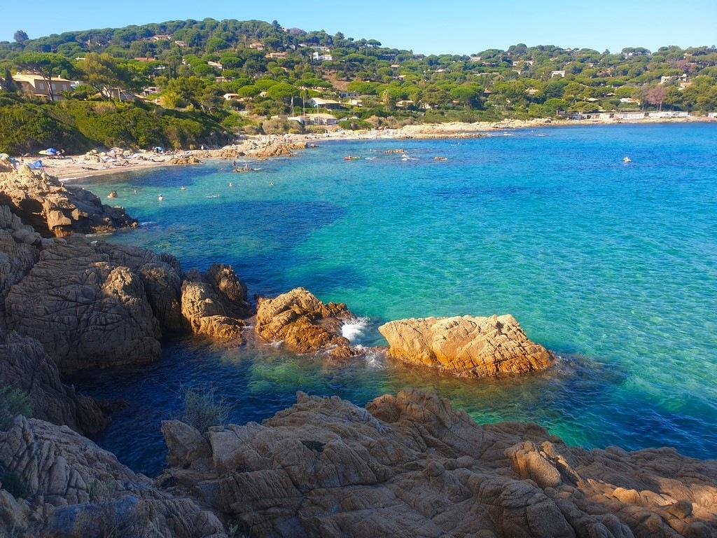 Golfe de Saint-Tropez : Plage de l'Escalet