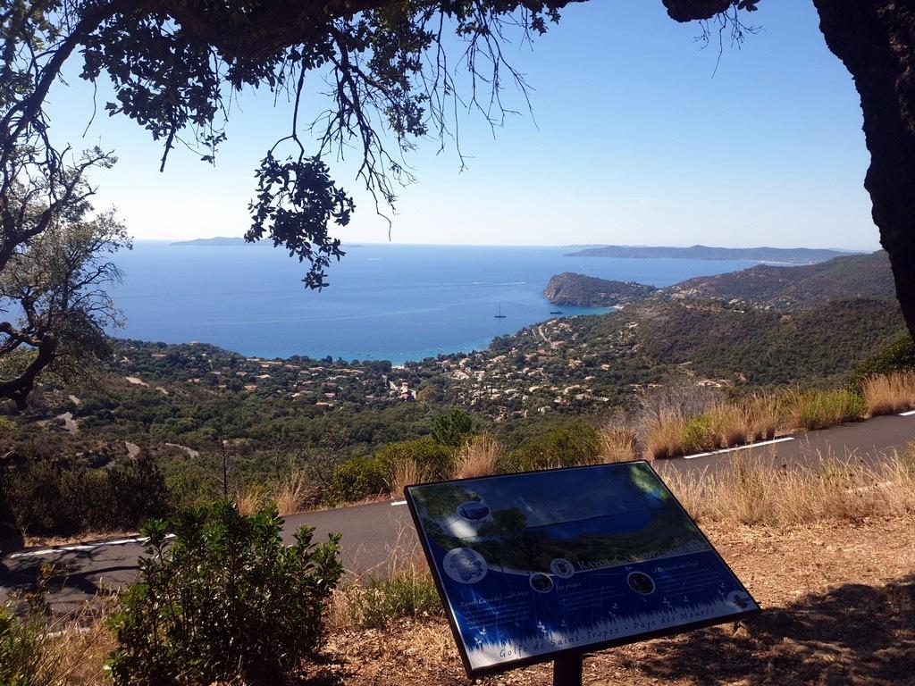 Golfe de Saint-Tropez : Route des Crêtes