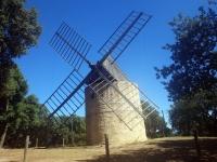 Golfe de Saint-Tropez : Moulins de Paillas
