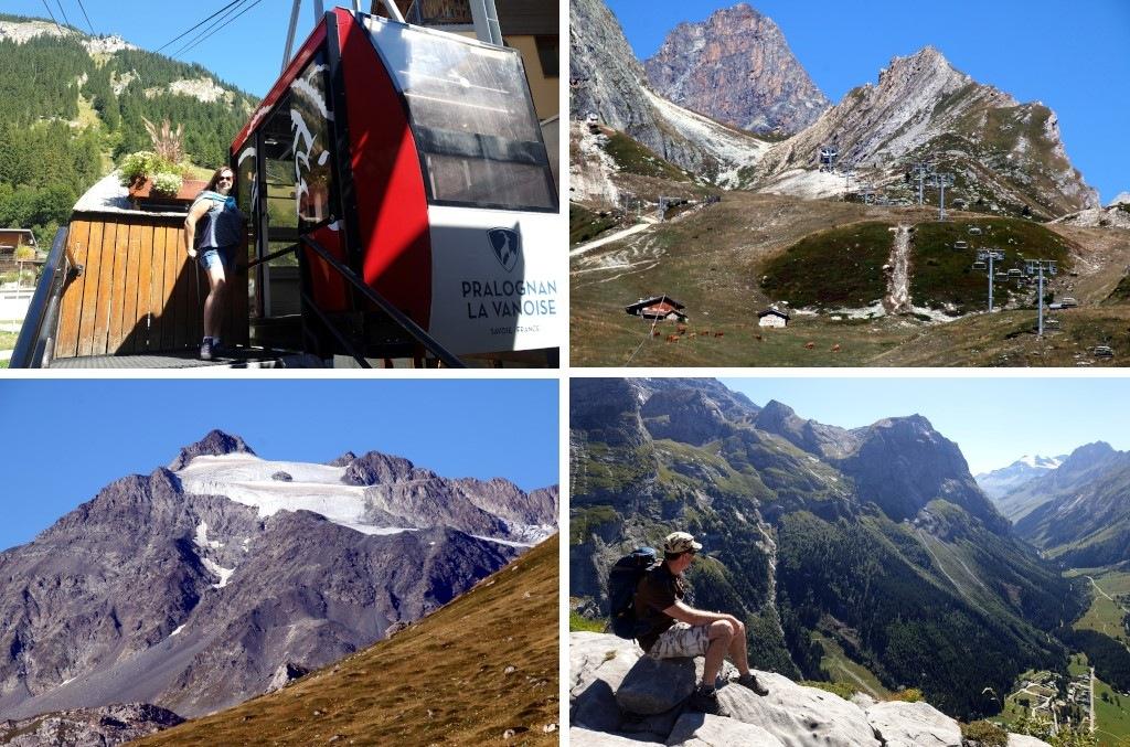 Pralognan en septembre : monter en téléphérique au Mont Bochor
