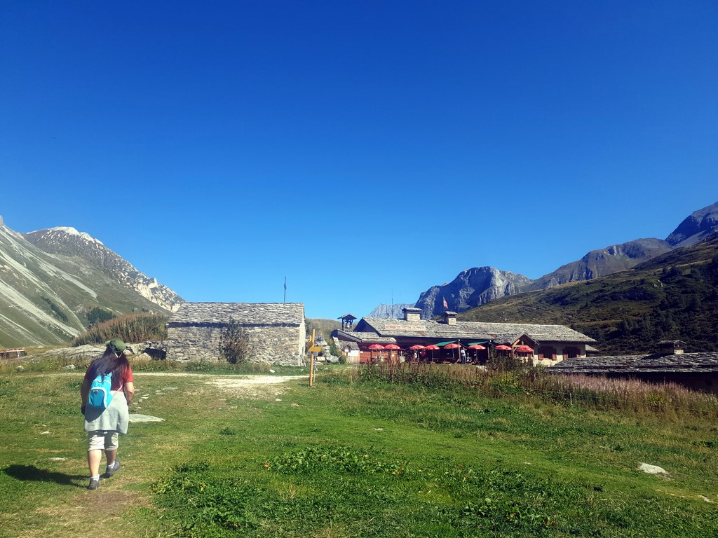 Pralognan en septembre : restaurant d'altitude