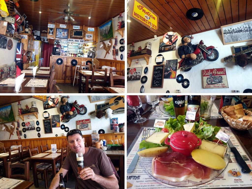 Pralognan en septembre : restaurant les Seillons