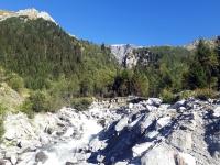 Pralognan en septembre : cascade