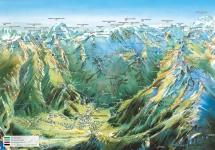 Pralognan en septembre : la carte des randonnées