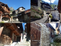 Pralognan en septembre : hameau Chambéranger