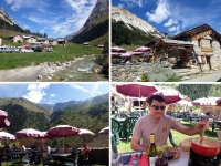 Pralognan en septembre : restaurant la Bergerie