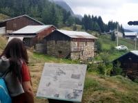 Pralognan en septembre : village d'alpage de Plan Fournier