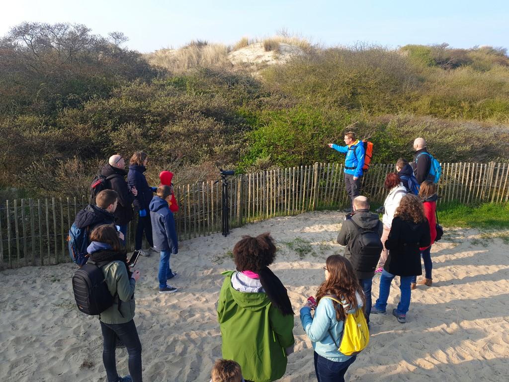 Baie d'Authie à Berck-sur-Mer : les #BlogueursHdf avec un guide