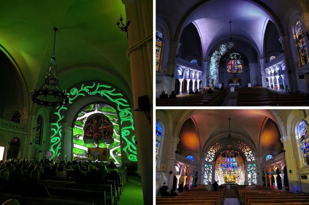 Mapping vidéo église Saint-Amé Liévin