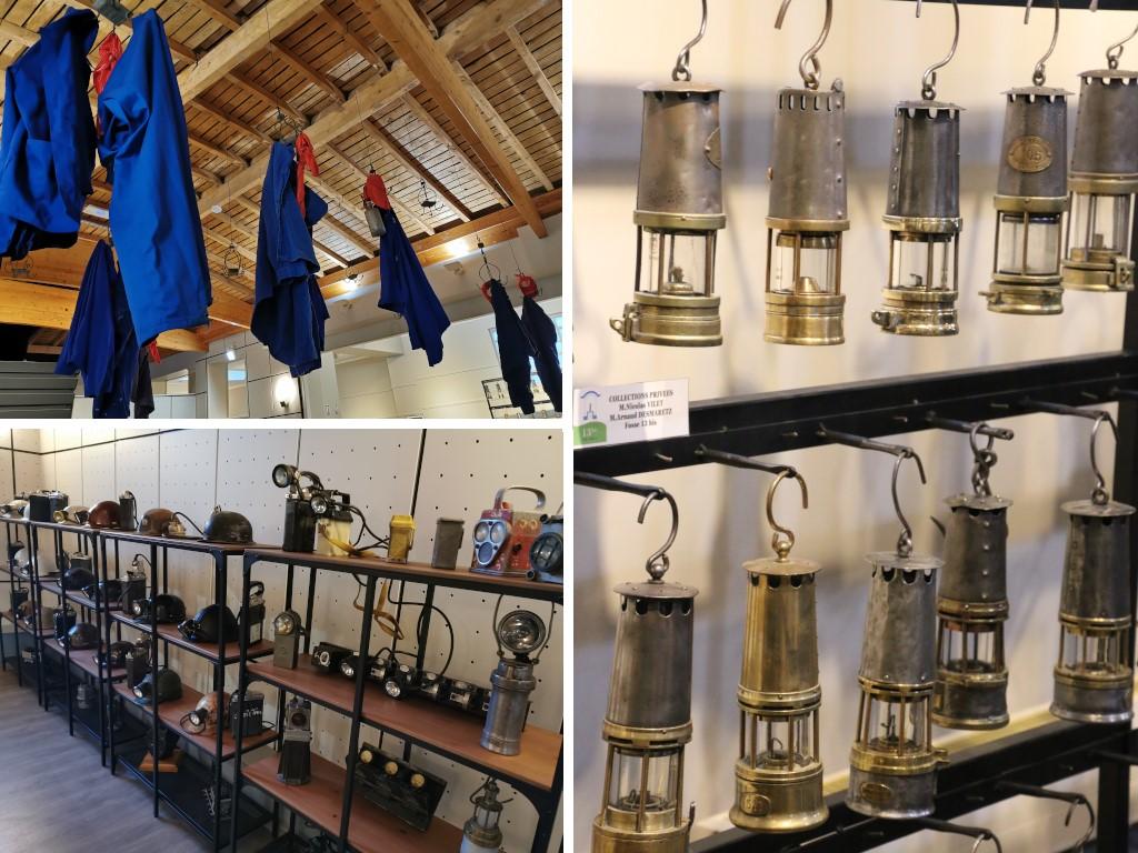 Expo lampes et objets de Mineurs