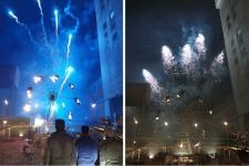 Sainte Barbe : spectacle Pyromènes