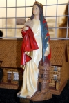 La statue de la Sainte Barbe