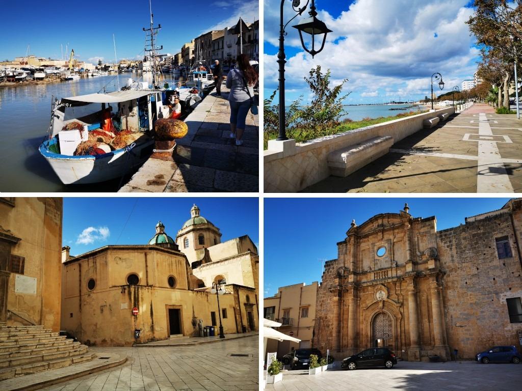 Sicile en Novembre : le port de Mazara del Vallo