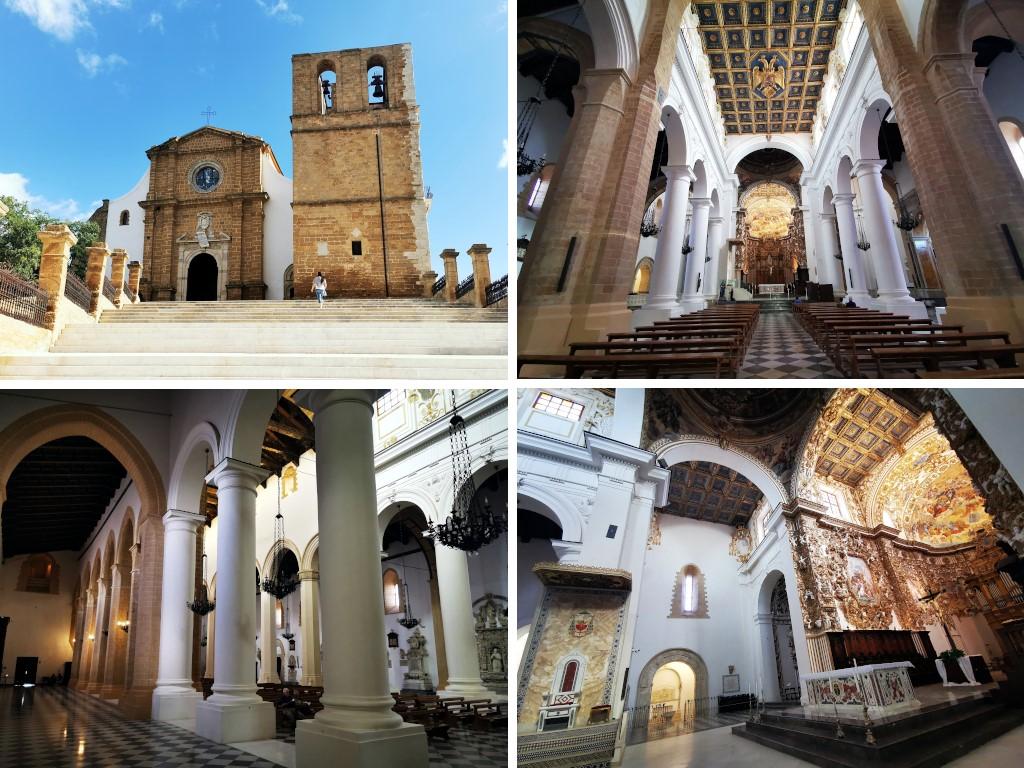 Sicile en Novembre : cathédrale d'Agrigente