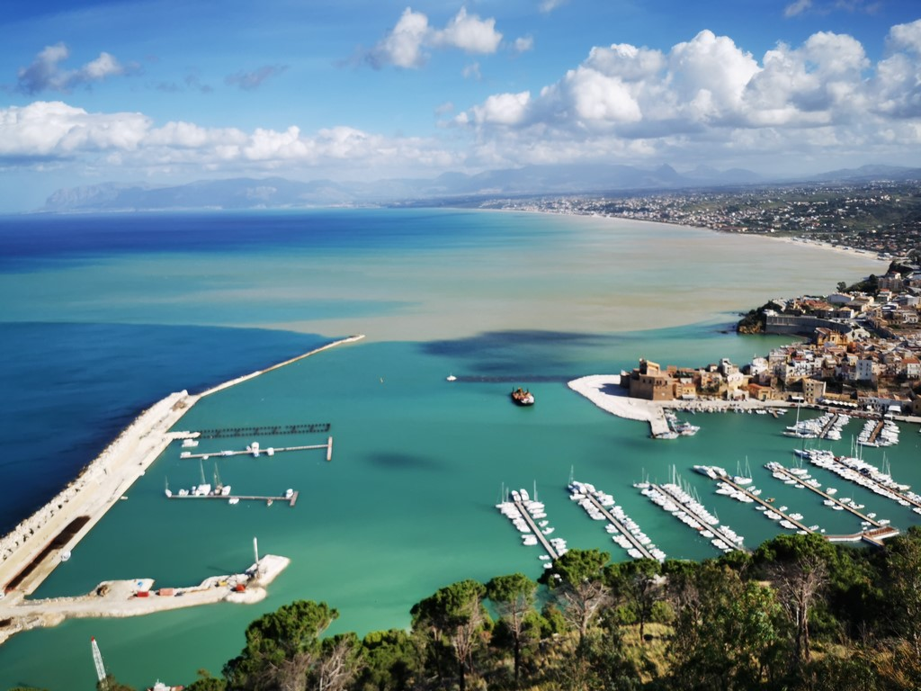 Sicile en Novembre : vue sur Castellammare del Golfo